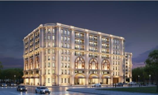 Mặt bằng Ritz Carlton Hà Nội được quy hoạch và phát triển với tổng diện tích lên tới hơn 4.000m2
